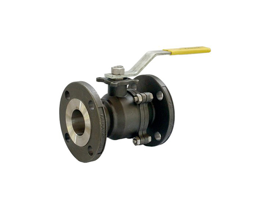 Flanged End 2 Piece Ball Valve
