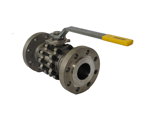 Flanged End 3 Piece Ball Valve